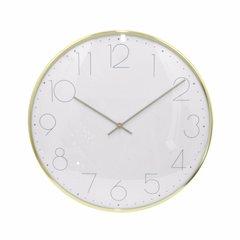 Chic Wall Clock - Small - Brass Gold - Benzara