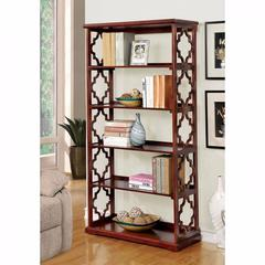 Joan Contemporary Display Shelf, Brown