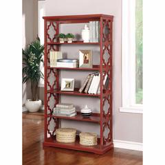 Joan Contemporary Display Shelf, Red