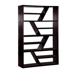 Kamloo Contemporary Display Shelf , Espresso