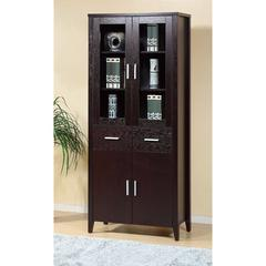 Beautiful Bookcase With Adjustable Shelves, Brown