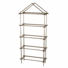 Magnificently Crafted Bamboo Etagere