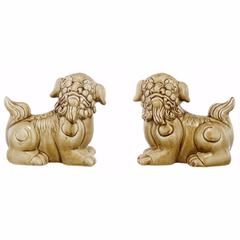 Attractive Foo Dog Bookenda-Set Of Two