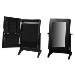 Elegant And stylish Wooden Jewelry Box, Black