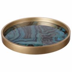 Contemporary Swirl Design Tray