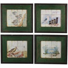 Wooden Wall decor, Multicolor, Assortment Of 4