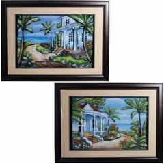 Assortment Of 2 Beautiful Wall Art decor, Multicolor