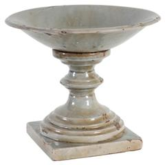 Ceramic Bowl, Gray