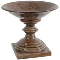 Ceramic Bowl, Brown