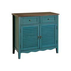 Rustic Cabinet, Blue