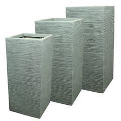 Fiber Clay Pots (Set of 3)