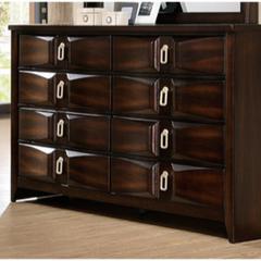 Bold and Striking Style Dresser, Varnish Oak