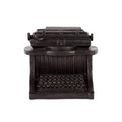 Benzara Classic Piece Of Resin Typewriter
