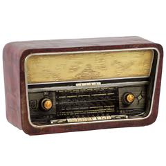 Detailed Replica Of Antique 1970S Resin Radio