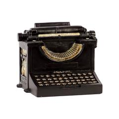 Ancient Customary Styled Significant Resin Typewriter