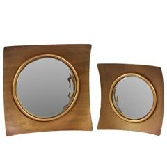 Benzara Lexington's Attractive Metal Mirror Set Of Two