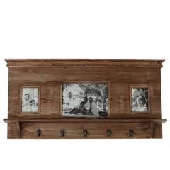 Vertigo's Classy Wooden Picture Frame With Hooks