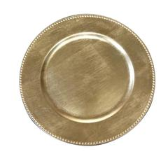 Gold Charger Plate, Gold, Set Of 24 by Urban Port