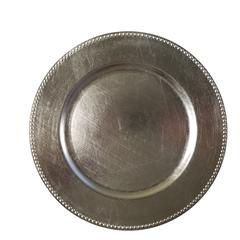 Silver Charger Plate, Silver, Set Of 24 by Urban Port