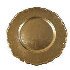 """Set of 24 Silver Charger Plates 13"""" Dia"""