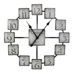 Benzara Classic And Uniquely Designed Metal Wall Clock