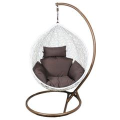 Exclusive Pe Rattan & Metal Hanging Chair