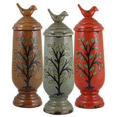 Benzara Set Of 3 Assorted Beautiful Ceramic Vases