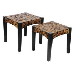 Benzara Uniquely Designed Trendy Wooden Coffee Table