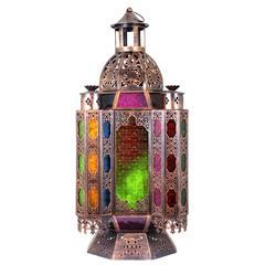 Enthralling And Well Designed Metal Lantern