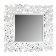 Benzara Fancy And Perfect Modern Glass Mirror