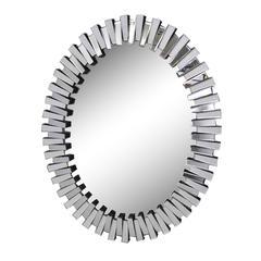 Benzara Praiseworthy Modern Mirror Design