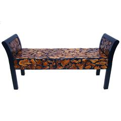 Stylish And Comfortable Wooden Bench