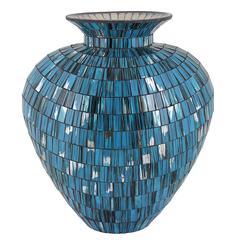 Splendid Mosaic Vase-Resin