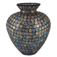 Benzara Splendid Mosaic Vase