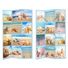 Benzara Enchanting Room Divider - Beach Theme