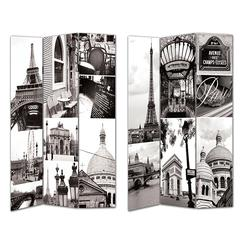 Benzara Exclusively Patterned Room Divider -Paris