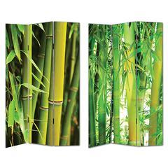 Benzara Marvelous Room Divider-Bamboo Themed