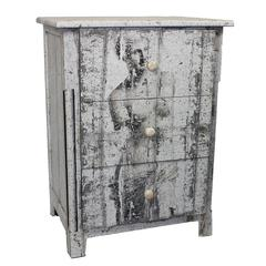 Elegant And Antique Themed Wooden Cabinet