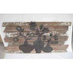 Elegant And Stunning Iron Wood Wall Decor