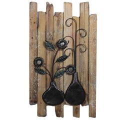 Benzara Spectacular Wooded Wall Decor