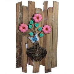 Benzara Attractive Wooden Wall Decor