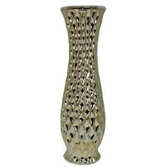 Benzara Lustrous And Chic Ceramic Vase