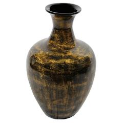 Eye-Catching Copper Lacquer Bamboo Vase
