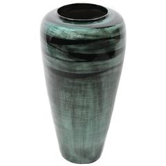 Benzara Captivating Lacquer Bamboo Vase