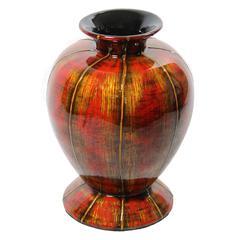 Benzara Charming Lacquer Bamboo Vase