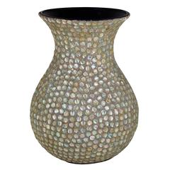 Benzara Innovatively Designed Mother Of Pearl Encrusted Vase