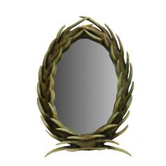 Unique Polyresin Mirror - Benzara