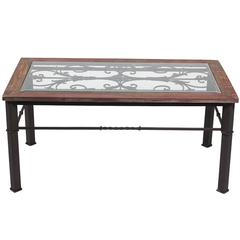 Benzara Stunning And Elegant Wooden Coffee Table
