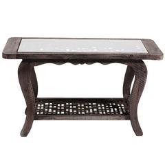 Sleek And Elegant Wooden Coffee Table