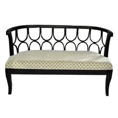 Exquisite And Royal Wood Metal Bench